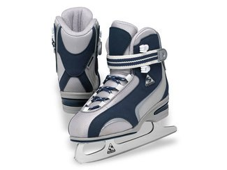 Jackson Nylon Ice Skates - 9