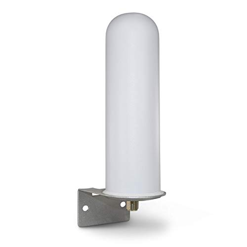 Proxicast High Gain 10 dBi Universal Wide-Band 3G/4G/LTE Omni-Directional Outdoor Pole/Wall Mount Antenna for Verizon, AT&T, Sprint