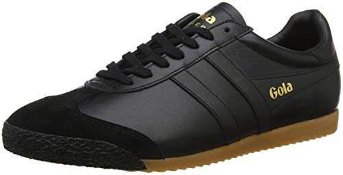 Hombre Zapatillas Leather Black Bbk Black para 50 Gola Black Harrier wqPEX4xH6