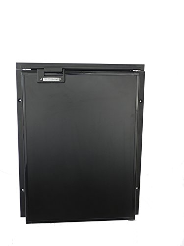 TruckFridge TF130ACDC Black Refrigerator (4.2 cubic ft 12vDC/110vAC for Commercial Vehicles)