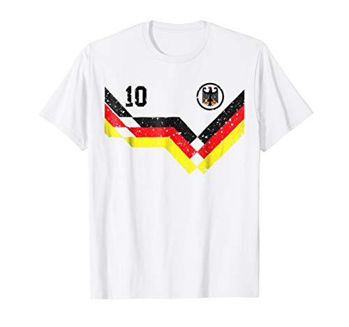 Retro Germany Soccer Jersey Deutschland T-Shirt 1990