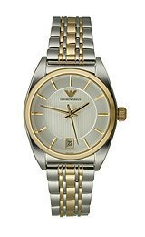 Armani Bracelet Collection Silver-tone Dial Women's Watch #AR0380