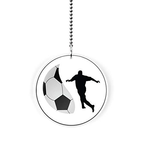 Soccer Player Fan/Light Pull ()
