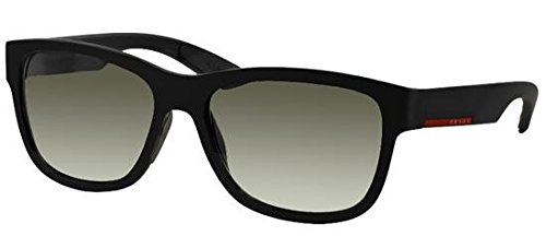 Prada Linea Rossa Men's 0PS 03QS Black Rubber/Grey ()