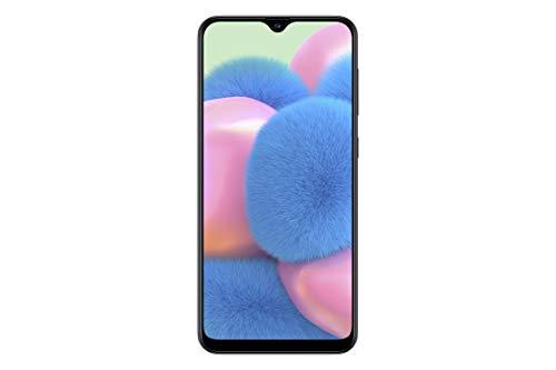 Samsung Galaxy A30s – Smartphone de 6.4″ Super AMOLED (4 GB RAM, 64 GB ROM, 16 MP ultra angular, Dual SIM, versión española) negro