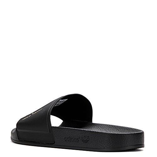 Adidas X Raf Simons Mens Bunny Adilette Slide Slipper By9813 Black Uk 4 / Us 4,5 D (m)