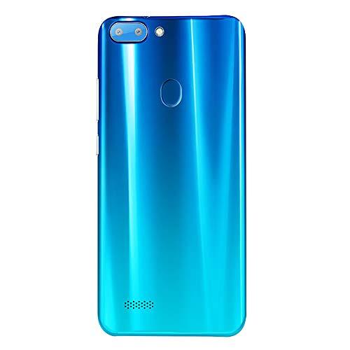 Mbtaua-Phone 5.5'' Ultrathin Smartphone Android 6.0 Octa-Core & 512MB+4G GSM WiFi Dual Unlocked Smartphone Blue