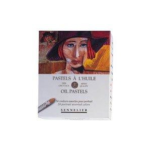 Glass Oil Pastels (Sennelier Oil Pastel Portrait Set Of 24)