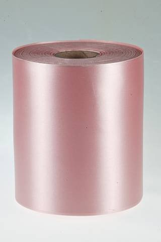 2m Single Sided Satin Ribbon 100mm HOT PINK FUSCHIA