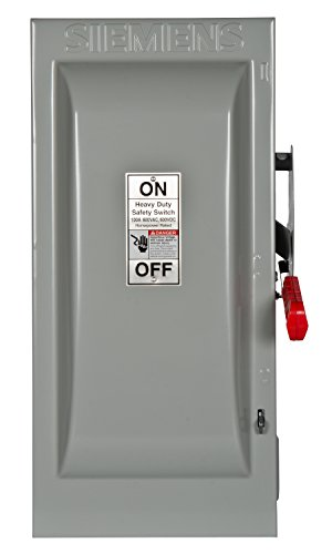 Siemens HNF363 100-Amp 3 Pole 600-volt 3 Wire Non-Fused Heavy Duty Safety Switches