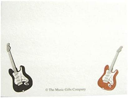 Music Gifts: Sticky Pad - Electric Guitar. para Guitarra Electrica ...