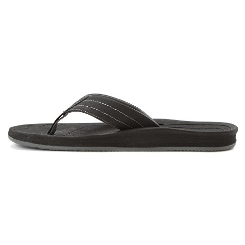 Freewaters Mens Rocker Sandal Chaussures Noir
