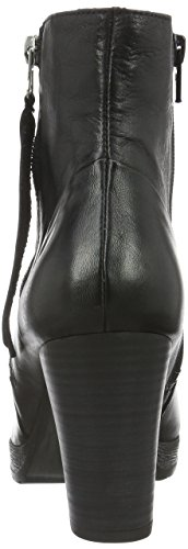 Casa para Negro Bianco Platform por Mujer Zapatillas Boot Black Zip Schwarz Jja15 de Estar W 10 zwBwF