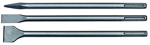 Einhell 4258101- Brocas de cincel plano (Martillo perforador, 40 cm, SDS Max), 3 piezas