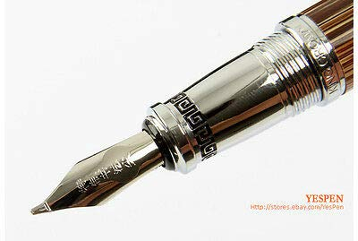 FidgetKute Duke Calligraphy Pen King Crown Confucius Commemorative Pens Bamboo Engraved NWT by FidgetKute (Image #8)