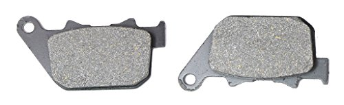 CNBK Rear Brake Pads Semi Metallic for HARLEY DAVIDSON Street Bike XL883 XL 883 L Sportster Low Spoke Wheel 04 05 06 07 08 09 10 2004 2005 2006 2007 2008 2009 2010 1 Pair(2 Pads) 5 Spoke Rotor