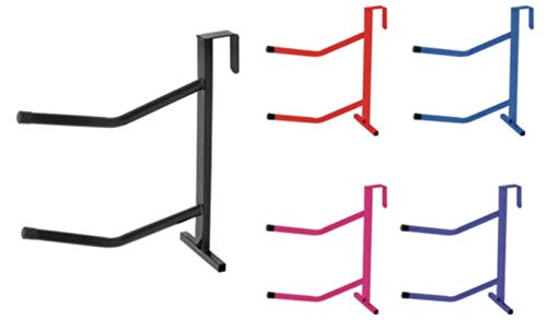 (Portable 2 Arm Saddle Rack - One Size - Black by Equiessentials)