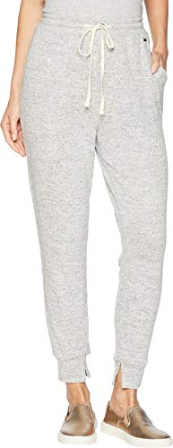 Banded Slim Pants - Lucky Brand Women's Brushed Slim Jogger Pants Heather Grey X-Small 26.5