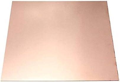 SOFIALXC 99,99% Reines Kupfer-metallblatt Für Handwerk Für Luft- Und Raumfahrt-Thickness 0.1mm