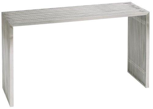 Nuevo Amici Console Table in Silver