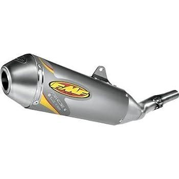 Color Aluminum 041275 Material FMF Racing PowerCore 4 Slip-On Natural