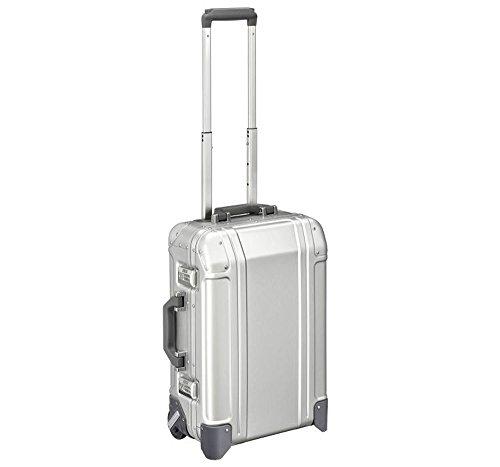Zero Halliburton 2 Wheel - Zero Halliburton Geo Aluminum 3.0-Carry-on 2-Wheel Travel Case, Silver