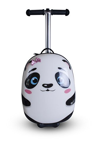 Zincflyte Kid S Luggage Scooter 18 Quot Polly The Panda