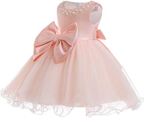 Christening Flower Dress Princess Formal