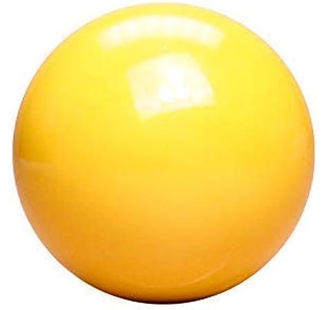 Amarillo bola blanca para billar 5,08 cm: Amazon.es: Deportes y aire libre