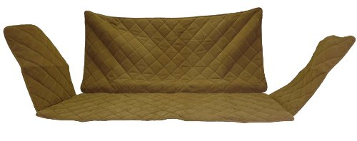 CPC Diamond Quilted Couch Protector for Dogs and Cats, 60 x 27 x 34-Inch, Saddle by Cpc