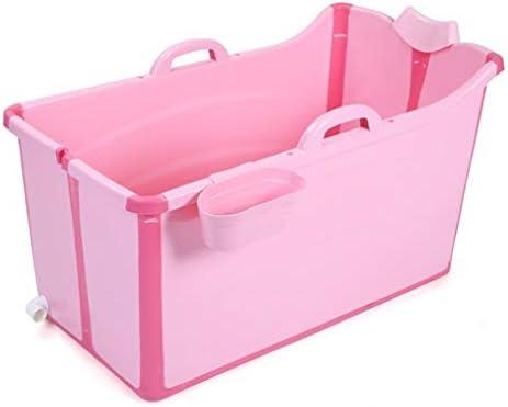 ホームでの大人のための大人のバスタブ折り畳み式のバスタブ大型プールバスタブバスタブバスタブ (Color : Pink)