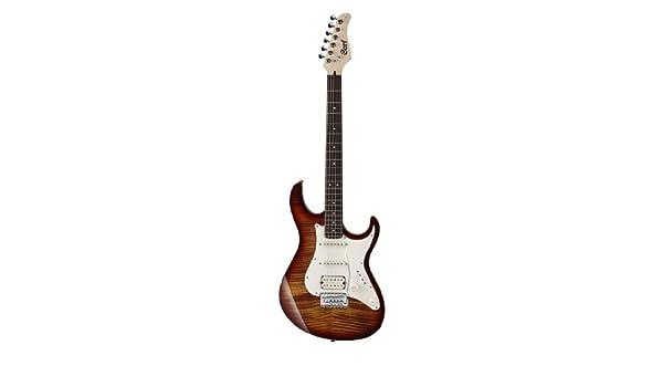 Cort g210ft-tab guitarra eléctrica de cuerpo sólido: Amazon.es: Instrumentos musicales