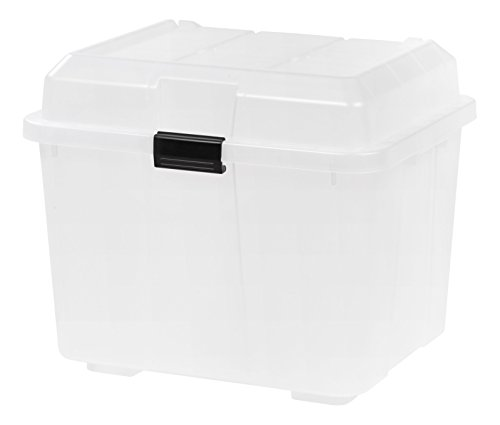 IRIS Hinged Utility Trunk clear