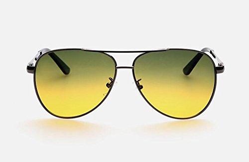 soleil polarisées en du retro Film de style vintage Lennon rond cercle inspirées métallique Vert lunettes fwBx5EanqZ