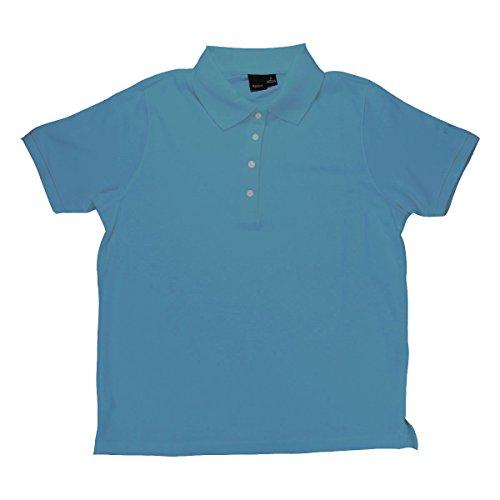 Reebok Women's Platinum Cotton Pique 7316 Polo Shirt Uniform Active Wear Sports (Sport Uniform For Woman)
