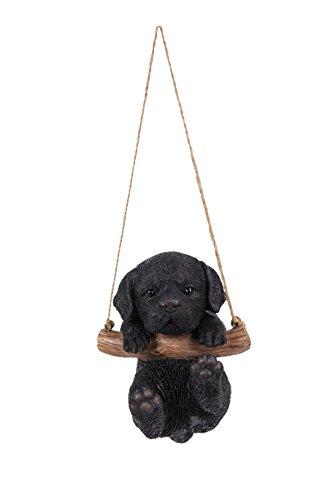 Hanging Black Lab Puppy ()