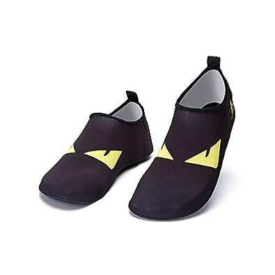 Women and Men Swimming & Water Games Shoes Barefoot Quick-Dry Aqua Socks for Beach Swim Surf Yoga Exercise 36-37 EU