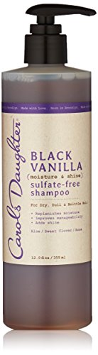 Carol's Daughter Black Vanilla Sulfate-Free Shampoo, 12 fl oz (Packaging May Vary)