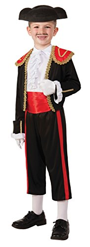 Boy's Matador Spanish Bull Fighter Ole Outfit Child Halloween Costume, Child S -