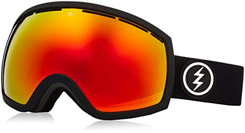 Electric EG2 Ski Goggles, Matte Black Brose Red Chrome