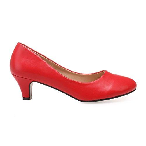Sintético De Rojo Vestir Mujer Zapatos Modeuse La 47189 xqOw0XSyty