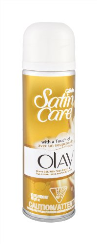 Gillette Satin Care Olay Shave Gel with Shea Butter 7OZ (Pack of 3)