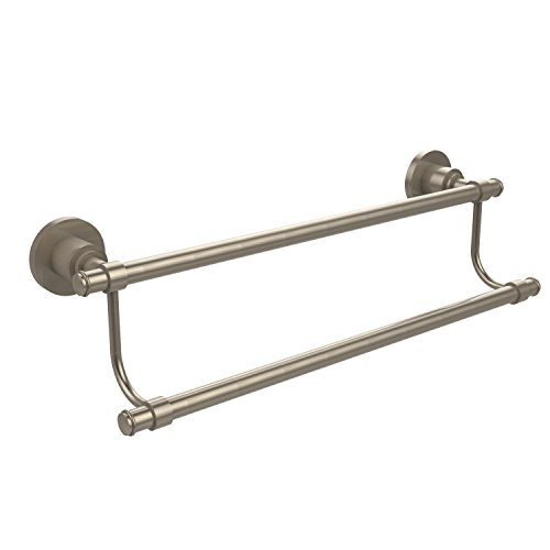 (Allied Brass WS-72/24-PEW Washington Square Collection 24 Inch Double Towel Bar Antique Pewter)
