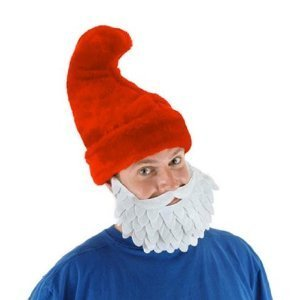 [Elope Red Little Blue People Hat] (Smurf Costumes Accessories)