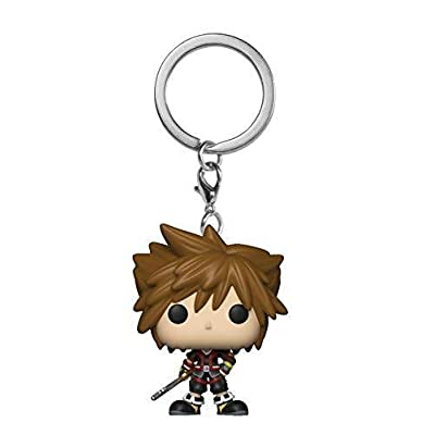 Funko Pop Keychain: Kingdom Hearts 3 - Sora Collectible Figure, Multicolor: Toys & Games