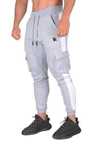 YoungLA Cargo Joggers for Men | Skinny Tapered Sweatpants, used for sale  Delivered anywhere in USA