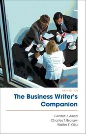 Read Online The Business Writers Companion PDF