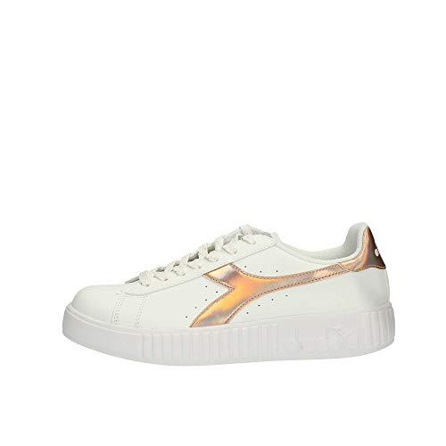 Shiny bianche donna Sneakers da Game Diadora Step SwWqpO7pC