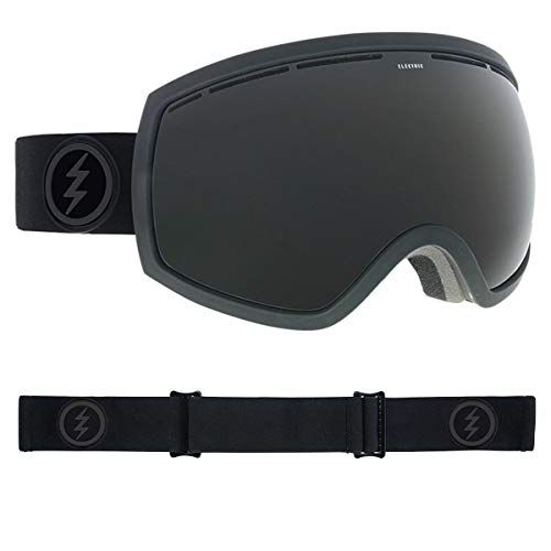 Electric Goggles Eg2 Snowboard (Electric Eyewear Unisex EG2 Murked Jet Black One Size)
