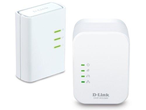 D-Link PowerLine AV+ Network and Wi-Fi Extender Mini Adapter